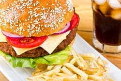Fast food increases severity of asthma in teens and children
