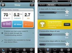 Mobile App for CPAP and Sleep Apnea