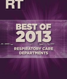 Best of 2013: Respiratory Care Departments