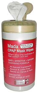 MADA Medical Offers CPAP Mask Wipes