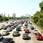 Traffic Pollution Associated With Increased Asthma Readmission Rates For White Children