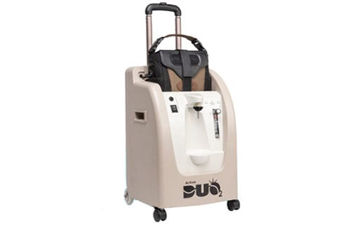 First Integrated Stationary, Portable Oxygen Concentrator Cleared by FDA