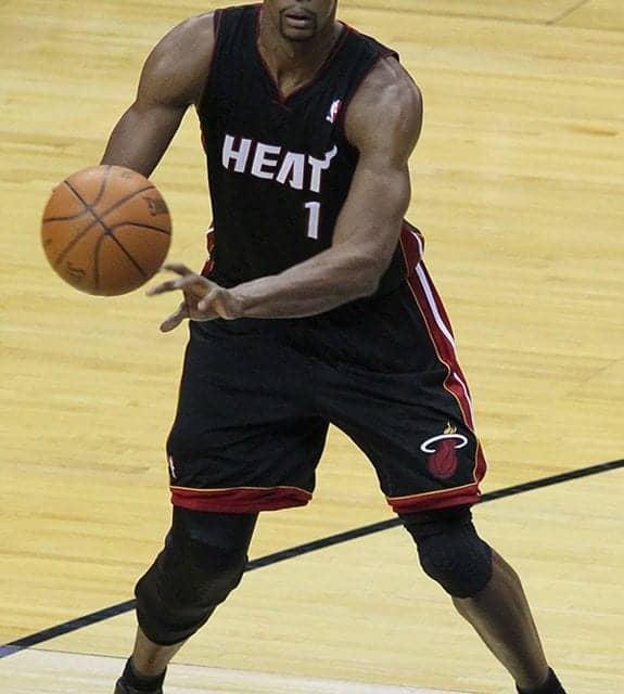NBA All-Star Chris Bosh Hospitalized with Pulmonary Embolism