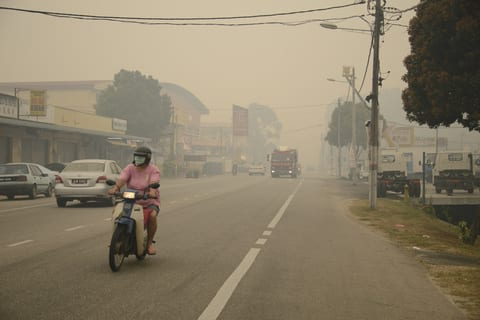 South-East Asian Haze Increases Risk of Respiratory Mortality