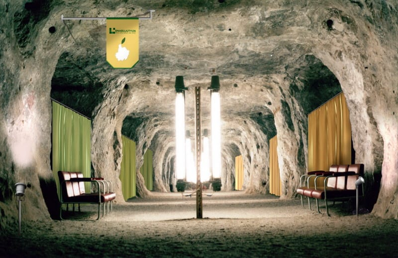 Living Underground To Treat Lung Disease