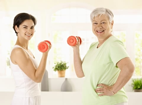 Moderate Physical Activity Linked with 50% Reduction in CV Death for Seniors