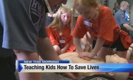 'Camp 9-1-1' Teaches Children CPR