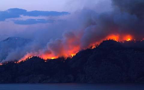 Wildfires Pollution Takes Toll on Lung Health