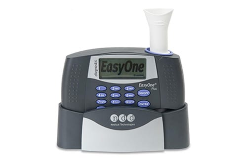 Patients Using ndd EasyOne Spirometers at Home Measure Lung Function as Adeptly as Professionals