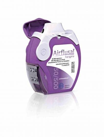 Sandoz Launches Airflusal Forspiro Inhaler in UK