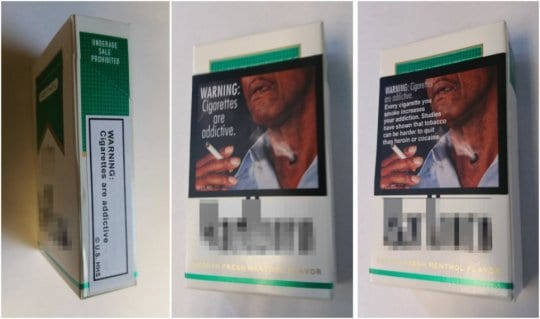 Graphic Photos on Cigarette Packages Effective in Anti-Smoking Efforts, Study Says