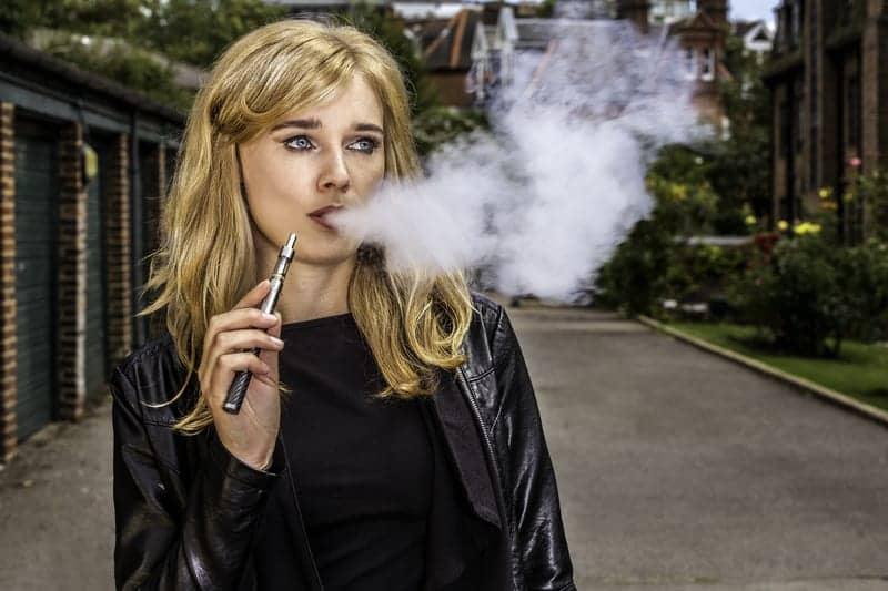 Potentially Dangerous Molecules Detected in E-cigarette Aerosols