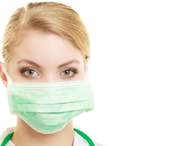 Are Masks a Good Alternative to Flu Shots for Healthcare Workers?