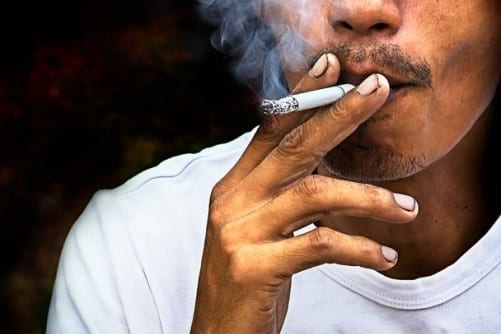 Smokers' Hypoxic Ventilatory Response Dips When They Abstain