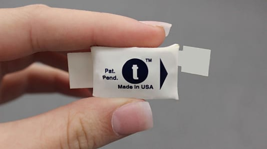 First Wireless, Fully Disposable Pulse Oximeter