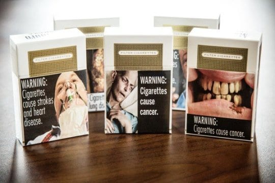 Graphic Images May Not Scare Smokers Off Cigarettes