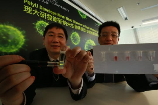 Novel Nano Biosensor Developed for Rapid Detection of Flu Virus