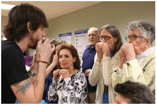 Academy of Country Music, COPD Foundation Launch 'Harmonicas for Health'
