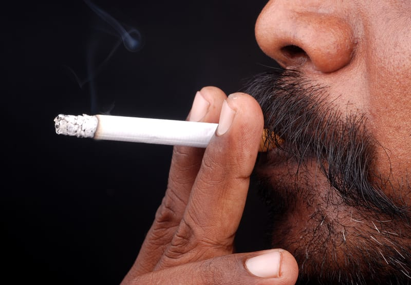 Study Finds 36 Percent Increase in Number of Male Smokers in India