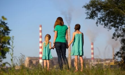 Lungs of Children Exposed to Air Pollution Show Diminished Function