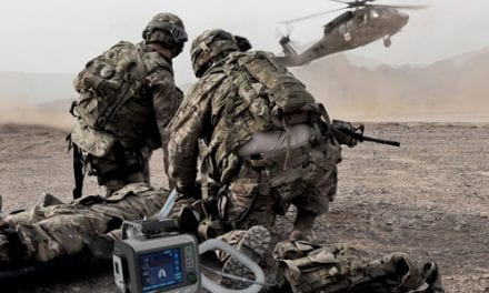 Hamilton Transport Vent Available for Armed Forces