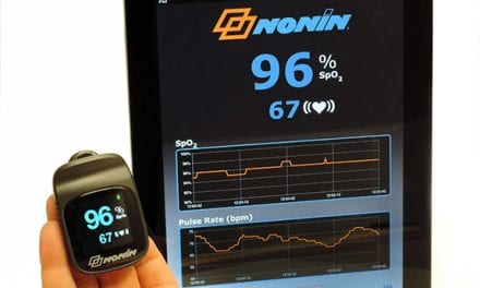 Nonin Launches Apple-compatible Wireless Finger Pulse Oximeter