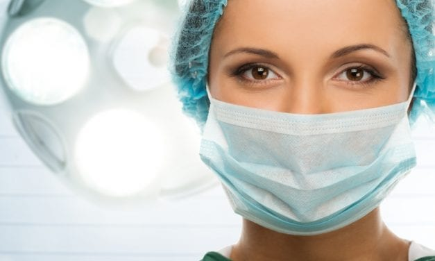Ultraviolet Light Exposes Contagion Spread From Improper PPE Use