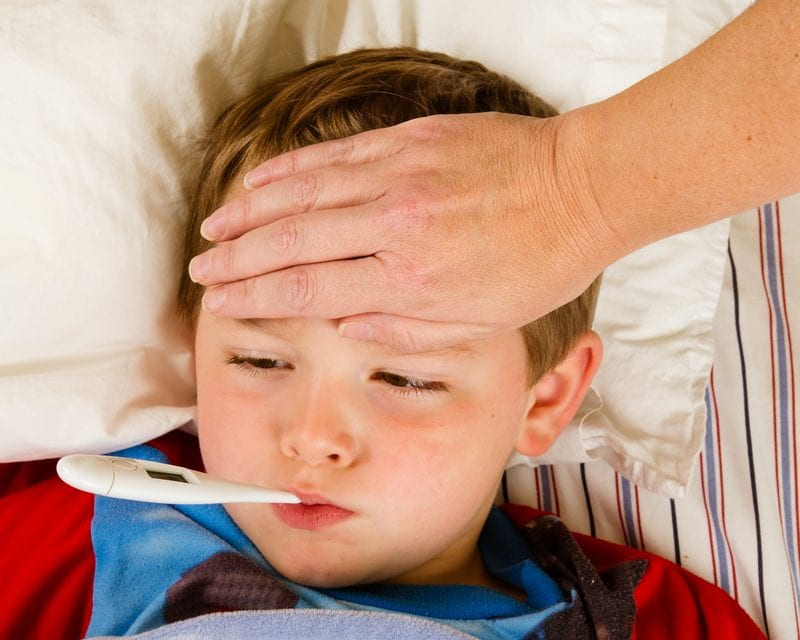 Fever Induced Asthma Attacks in Children Linked to Treatment Failure