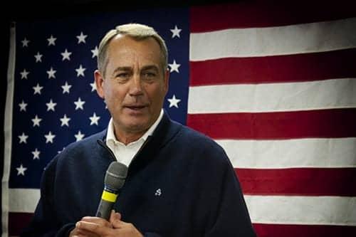 Former House Speaker John Boehner Joins Big Tobacco