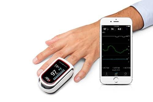 Apple to Market MightySat Pulse Oximeter