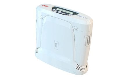 GCE Healthcare Launches Lightweight Portable Oxygen Concentrator