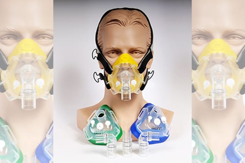 Hans Rudolph Launches New Disposable Masks for NIV, O2