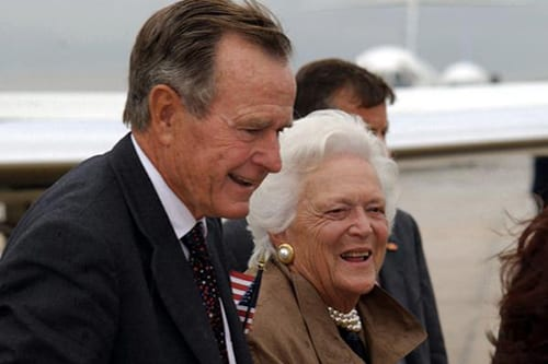 President George H.W. Bush Hospitalized for Pneumonia