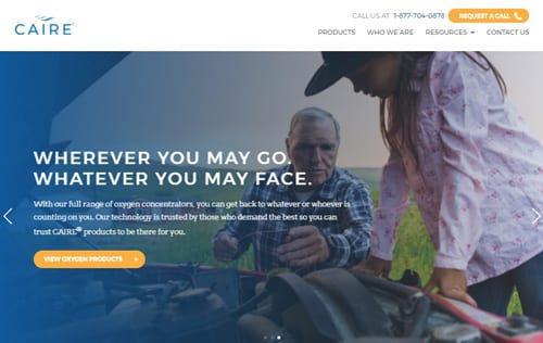 Caire Launches New Branding, Website