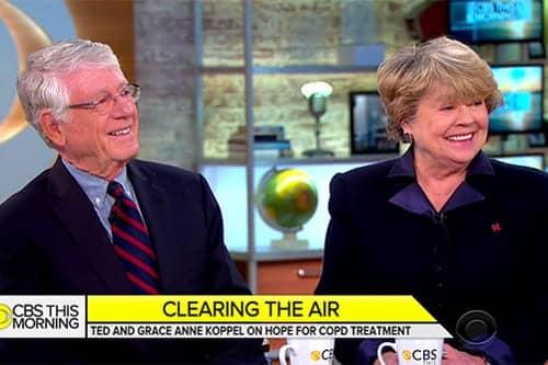 Journalist Ted Koppel Promoting COPD Awareness