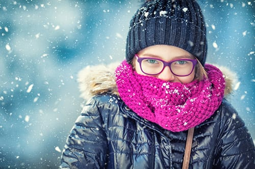 Scarves a Necessity for Asthma Patients in Cold Weather