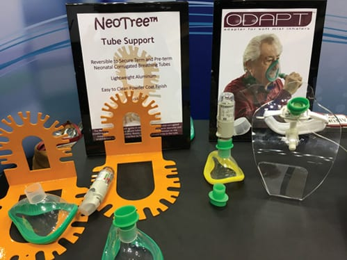 NeoTree Tube Support for Neonatal and Pediatric Ventilator Circuits
