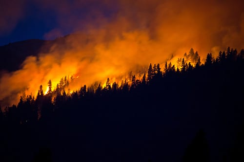 Wildfires Causing Poor Air Quality in the West