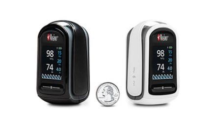 Masimo MightySat Pulse Oximeter Cleared for RRp, Home Care