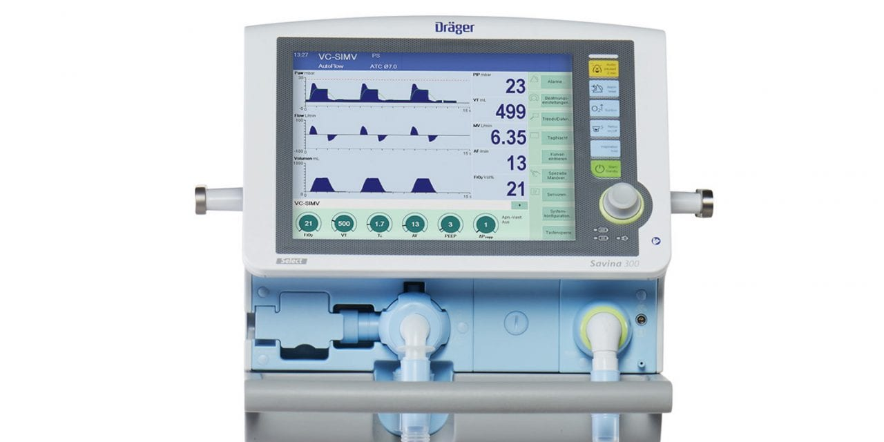 Dräger Earns Frost & Sullivan Award for Ventilation Advances