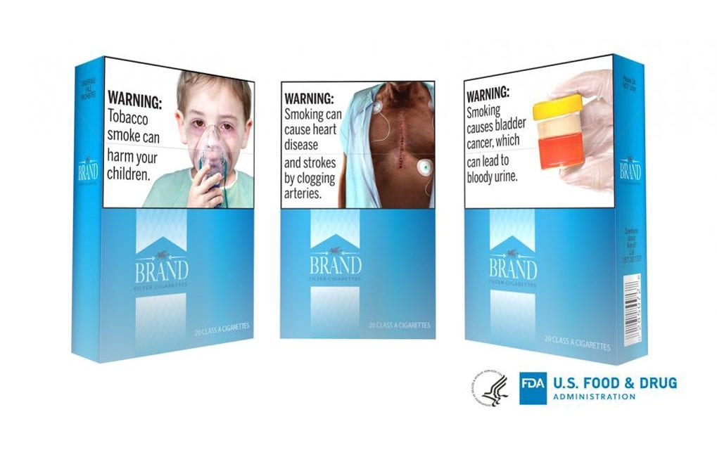 FDA Requires Graphic Warnings on Cigarettes Starting June 2021