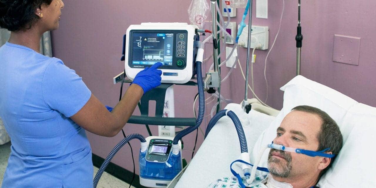 FDA Approves High-flow Oxygen, Speaking Valve for Hamilton Ventilators