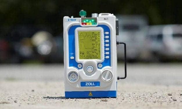 Zoll Launches Z Vent Portable Ventilator
