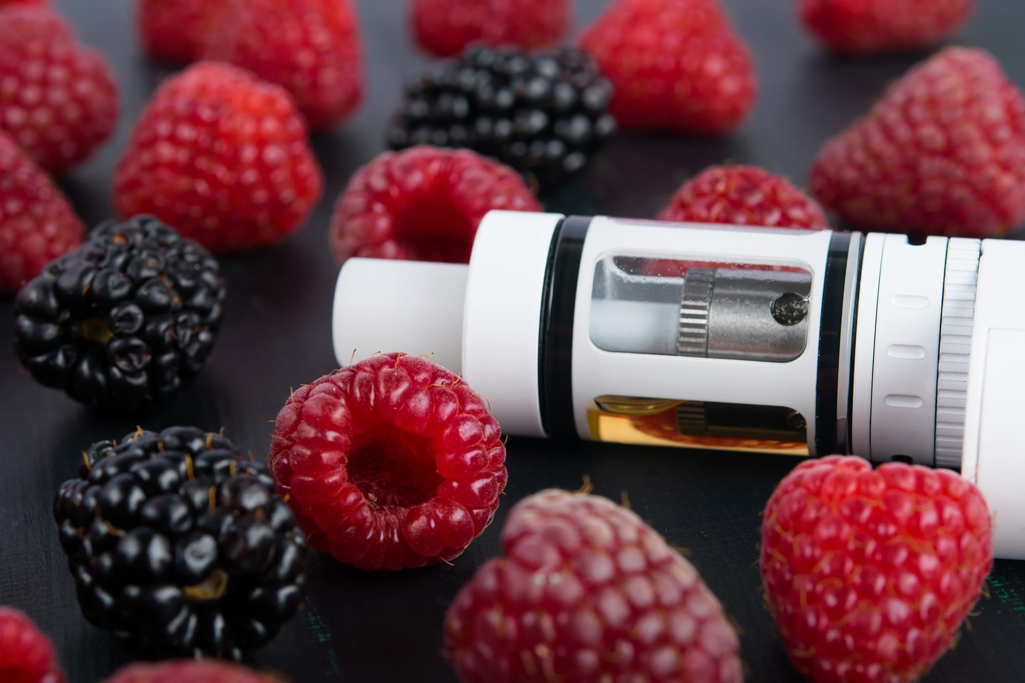 Liquid E-cigarette Flavorings Measurably Injure Lungs