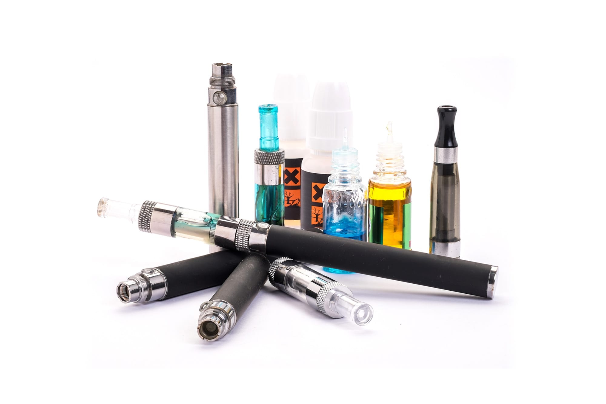 Vaping Chemicals Mix to Form New Toxic Compounds