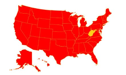 West Virginia Is the Last US State without Coronavirus