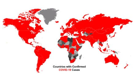 *36* More Countries Documented First Coronavirus Cases this Week