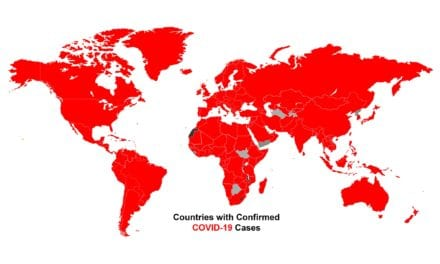 Coronavirus Spread to these 10 Countries for the First Time Last Week