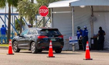 Drive-thru Coronavirus Testing Catches on in United States