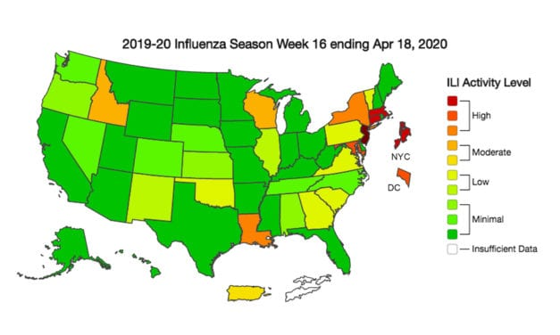 CDC: The End of Flu Season Is Within Sight